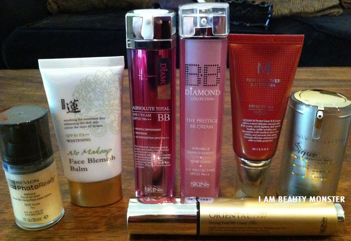 Welcos, Skin79, Missha BB cream