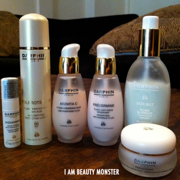 Darphin Arovita C review, Darphin Predermine review, Darphin Skin Mat review, Darphin Age-Defying Protection Lotion review
