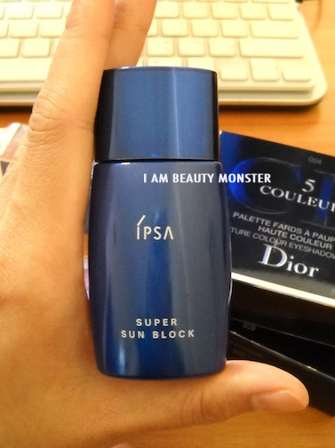 IPSA Super Sun Block SPF50 PA+++ Review