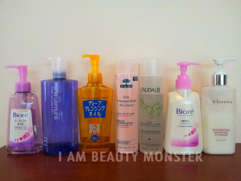 Makeup Remover, Cleansing Oil, Cleansing Water, Cleansing Milk