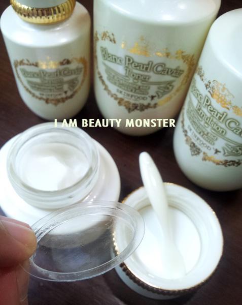 รีวิว Skinfood Blanc Pearl Caviar Cream, Skinfood Blanc Pearl Caviar Cream review