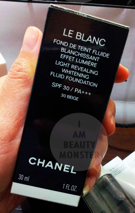 Chanel Le Blanc Light Revealing Whitening Fluid Foundation Review, รีวิว Chanel Le Blanc Light Revealing Whitening Fluid Foundation