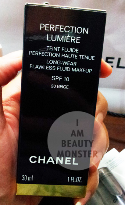 Chanel Perfection Lumiere Long Wear Flawless Fluid Makeup Review, รีวิว Chanel Perfection Lumiere Long Wear Flawless Fluid Makeup