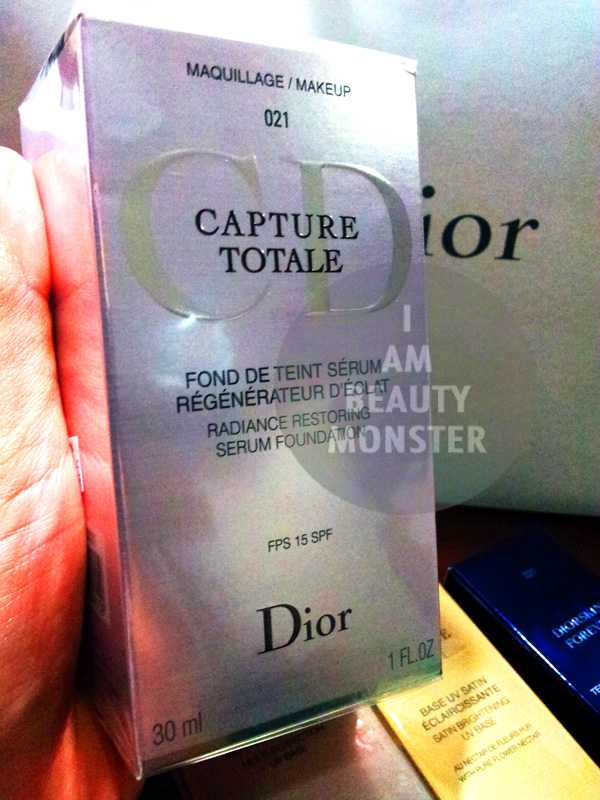 DIOR CAPTURE TOTALE Radiance Restoring Serum Foundation, รีวิว DIOR CAPTURE TOTALE Radiance Restoring Serum Foundation, DIOR CAPTURE TOTALE Radiance Restoring Serum Foundation Review, รีวิว ครีมรองพื้น DIOR CAPTURE TOTALE Radiance Restoring Serum Foundation