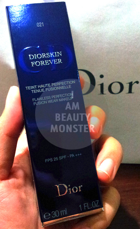DIOR Forever Flawless Perfection Fusion Wear Makeup, รีวิว DIOR Forever Flawless Perfection Fusion Wear Makeup, DIOR Forever Flawless Perfection Fusion Wear Makeup review
