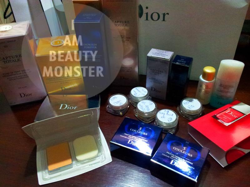 Dior Skincare Set