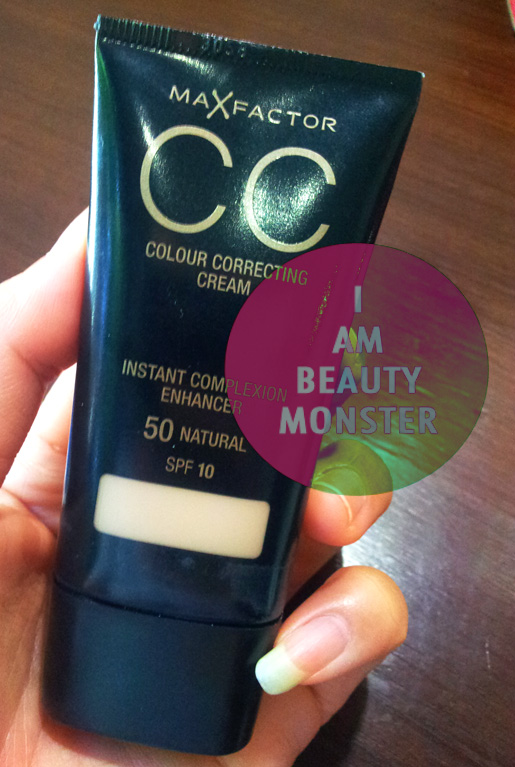 MAX FACTOR CC Cream, รีวิว MAX FACTOR CC Cream