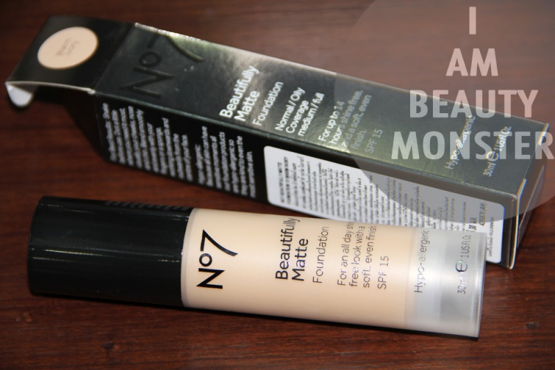 No7 Beautifully MATTE Foundation review, รีวิว No7 Beautifully MATTE Foundation, รีวิว ครีมรองพื้น No7, รีวิวครีมรองพื้นเทพ, รีวิว ครีมรองพื้นถูกและดี, รีวิว เครื่องสำอางจาก Drug store, Drug Store Foundation, Drug Store Foundation Review, No7 Foundation Review, Foundation for Combination Skin, Foundation for Oily Skin, รีวิว ครีมรองพื้นสำหรับผิวผสม, รีวิว ครีมรองพื้นสำหรับผิวมัน, รีวิว ครีมรองพื้นเทพราคาถูก, No7 Beautifully Matte Foundation