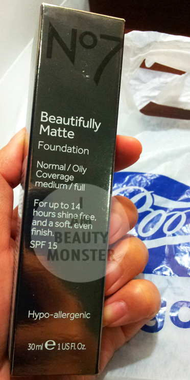 No7 Beautifully MATTE Foundation review, รีวิว No7 Beautifully MATTE Foundation