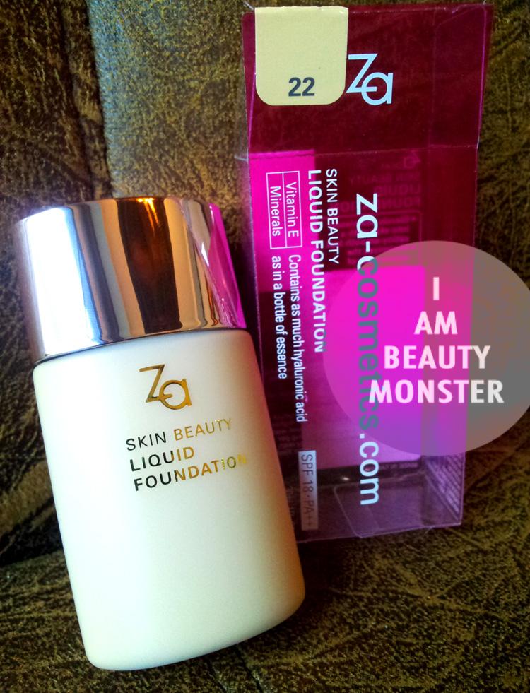 รีวิว ZA Skin Beauty Liquid Foundation, ZA Skin Beauty Liquid Foundation Review, ZA Skin Beauty Liquid Foundation Review and Swatch, Drug Store Foundation Review, รีวิว ครีมรองพื้น Drug store, รีวิว เครื่องสำอาง Drug Store, รีวิวครีมรองพื้นถูกและดี, รีวิวครีมรองพื้นเทพ, ครีมรองพื้นสูตรน้ำ, รีวิว ครีมรองพื้นสูตรน้ำ, รีวิว ครีมรองพื้นสำหรับผิวธรรมดา, รีวิว ครีมรองพื้นสำหรับผิวมัน, รีวิว ครีมรองพื้นสำหรับผิวผสม, Foundation for Oily skin, Foundation for Combination Skin, ZA Skin Beauty Liquid Foundation รีวิว, Japanese Cosmetics, Japanese Makeup, Japanese Brand