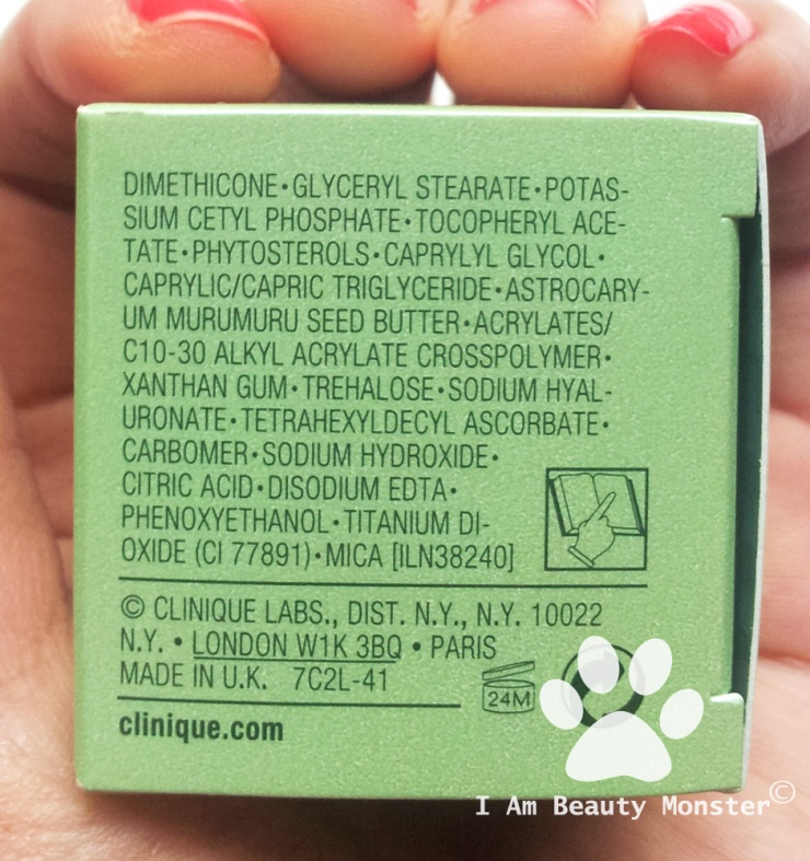Ingredients: Clinique Repairwear Uplifting Firming Cream