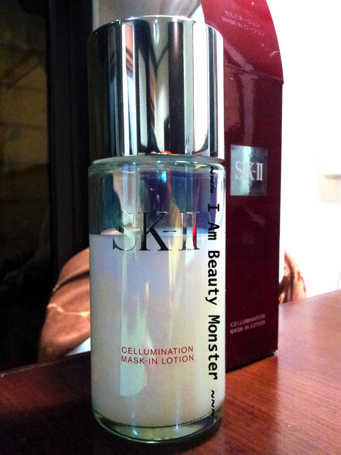 SK-II Cellumination Mask-In Lotion, รีวิว SK-II Cellumination Mask-In Lotion, รีวิว skii, รีวิว SK-II, รีวิว SK II Lotion