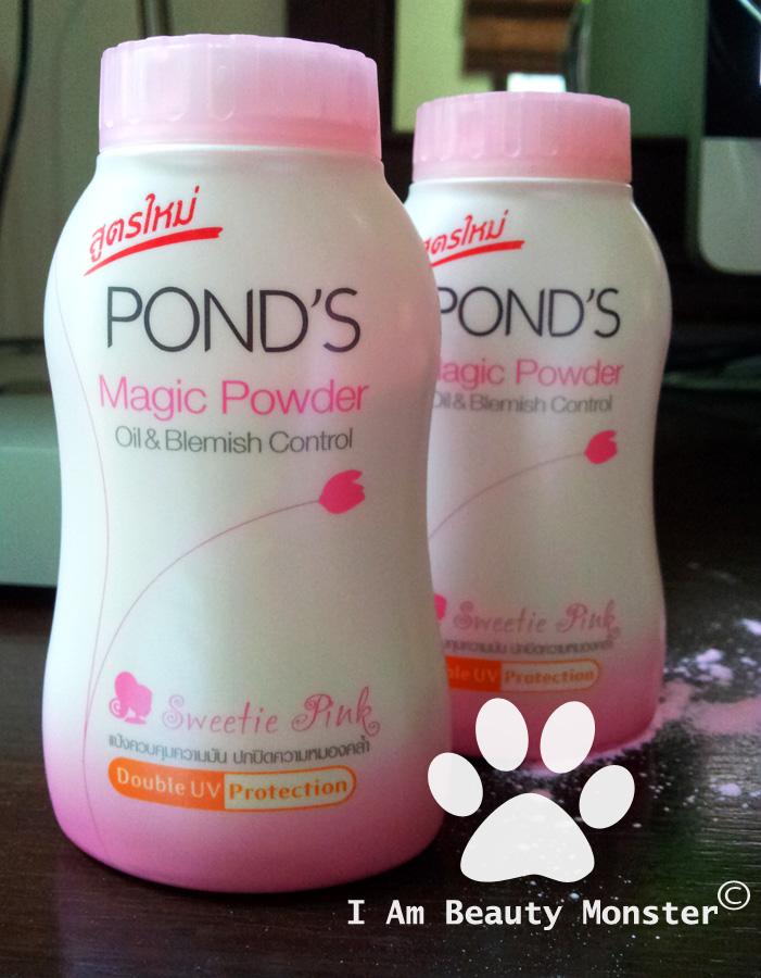 รีวิวแป้ง POND'S MAGIC POWDER