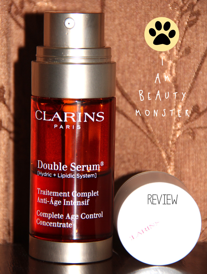 clarins double serum review i am beauty monster. Black Bedroom Furniture Sets. Home Design Ideas