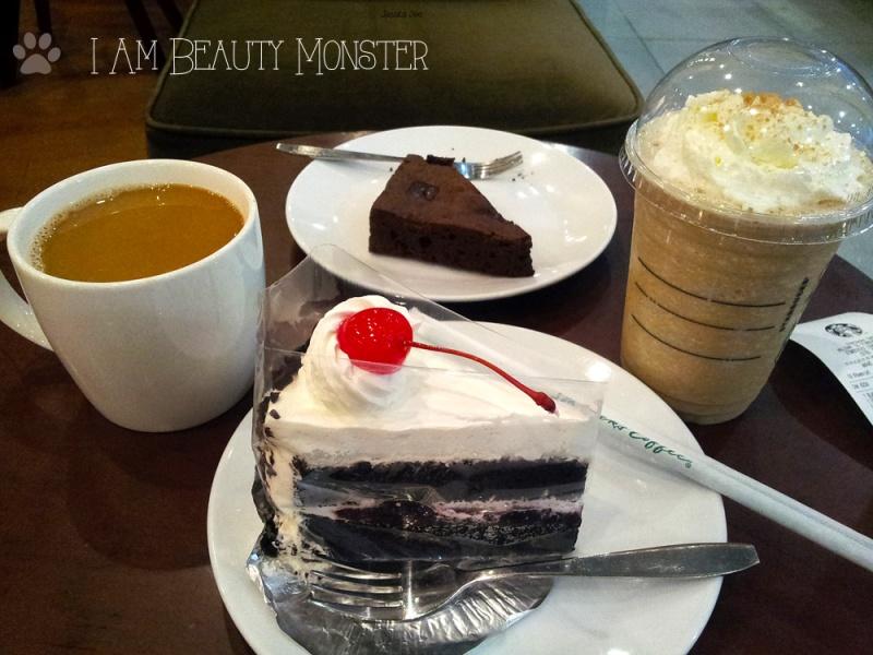 Cake, Bakery, Starbucks Coffee, Coffee, Brownie Espresso, Black Forest Cake, Latte Flappe, Americano, กาแฟStarbucks, Starbucks