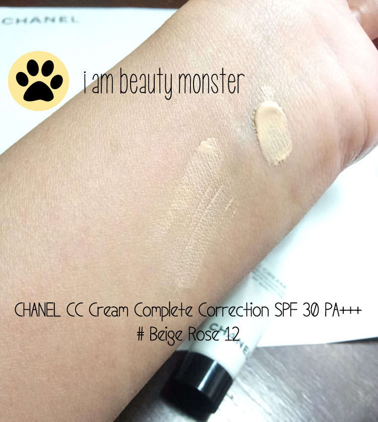 รีวิว CC cream, CHANEL, CHANEL CC Cream, CHANEL CC Cream Complete Correction Review, CHANEL CC Cream Complete Correction Swatch, CHANEL CC Cream Complete Correction Beige Rose Swatch, CHANEL CC Cream Complete Correction Beige Rose Review, รีวิว CHANEL CC Cream Complete Correction สีใหม่ Beige Rose 12, CHANEL CC Cream Complete Correction Beige Rose 12 Swatch, รีวิว CC cream เทพ, รีวิว CC cream สำหรับทุกสภาพผิว, รีวิว CC cream สำหรับผิวแพ้ง่าย, รีวิว CHANEL CC Cream Complete Correction สี Beige Rose 12