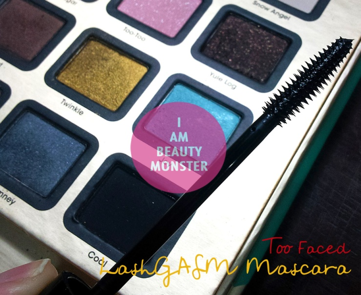 Too Faced JOY to the GIRLS, Too Faced LashGASM Mascara, รีวิว Too Faced LashGASM Mascara, Too Faced LashGASM Mascara Review, Too Faced JOY to the GIRLS review, รีวิวสีอายชาโดว์, รีวิวสีอายชาโดว์ Too Faced JOY to the GIRLS, Too Faced JOY to the GIRLS swatches, Too Faced Review, Too Faced Eye Shadow Palette Review, Too Faced Review and Swatch, Too Faced Mascara Review, Sephora review, Sephora brands, Too Faced Holiday Set, Too Faced Set, Too Faced Holiday Palettes, Too Faced Eye Makeup Review, Too Faced, Joy to the girls, Joy to the girls palette review and swatch, Joy to the girls palette review, รีวิว Joy to the girls, รีวิว Joy to the girls palette, รีวิว Too Faced Holiday Set, รีวิว Too Faced Holiday Joy to the girls palette, beauty monster, iambeautymonster, i am beauty monster, ibm, beauty blogger, beauty blog, makeup, makeup review, บิวตี้ บล็อกเกอร์, Mascara Review, รีวิวมาสคาร่า, รีวิว Too Faced Mascara, รีวิวมาสคาร่า Too Faced, LashGASM Mascara, รีวิว LashGASM Mascara, รีวิว Too Faced LashGASM Mascara