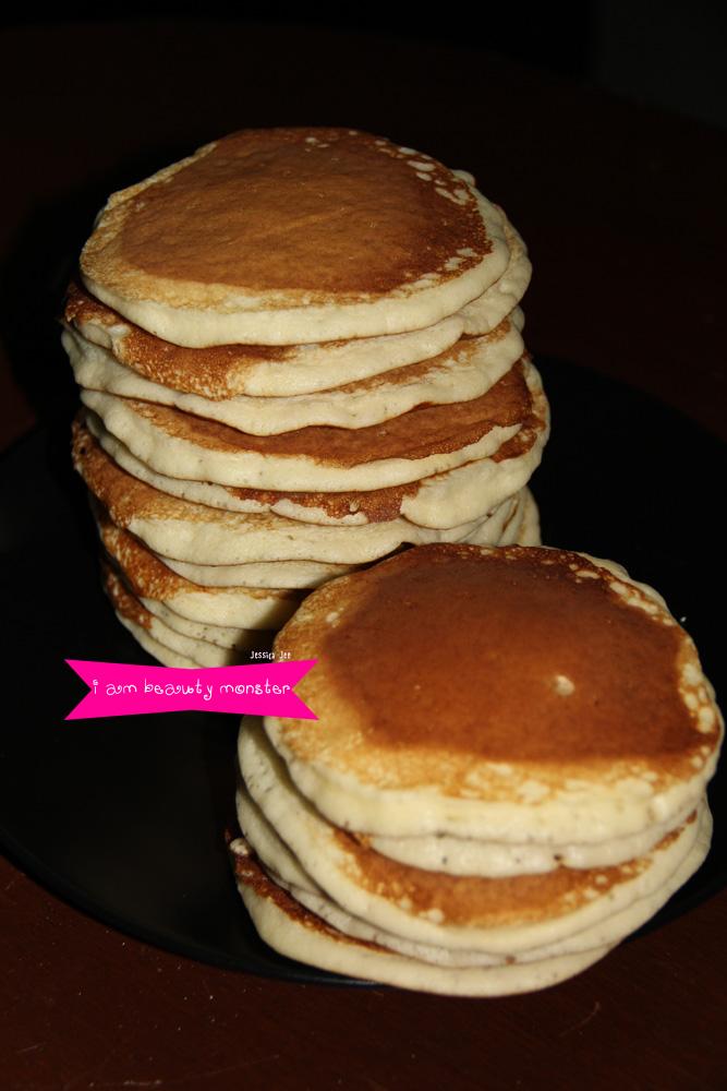 Pancake, Homemake, Homemade Pancake, Dessert, ทำขนม, ทำแพนเค้กกินเอง, แพนเค้ก, pancake, ขนม, ขนมแพนเค้ก, iambeautymonster, i am beauty monster, i am beauty monster blog, beauty blogger, iambeautymonster beauty blog