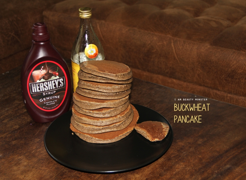 Homemade Buckwheat Pancakes, Homemade, Buckwheat, Pancake, ขนมแพนเค้ก, บัควีทแพนเค้ก, ขนม, Yummy