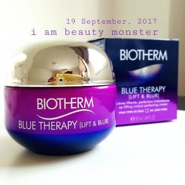 BIOTHERM Blue Therapy LIFT & BLUR Cream, รีวิว BIOTHERM Blue Therapy LIFT & BLUR Cream, BIOTHERM Blue Therapy LIFT & BLUR Cream Review, รีวิวครีมบำรุงผิว, รีวิว BIOTHERM, รีวิว BIOTHERM Blue Therapy