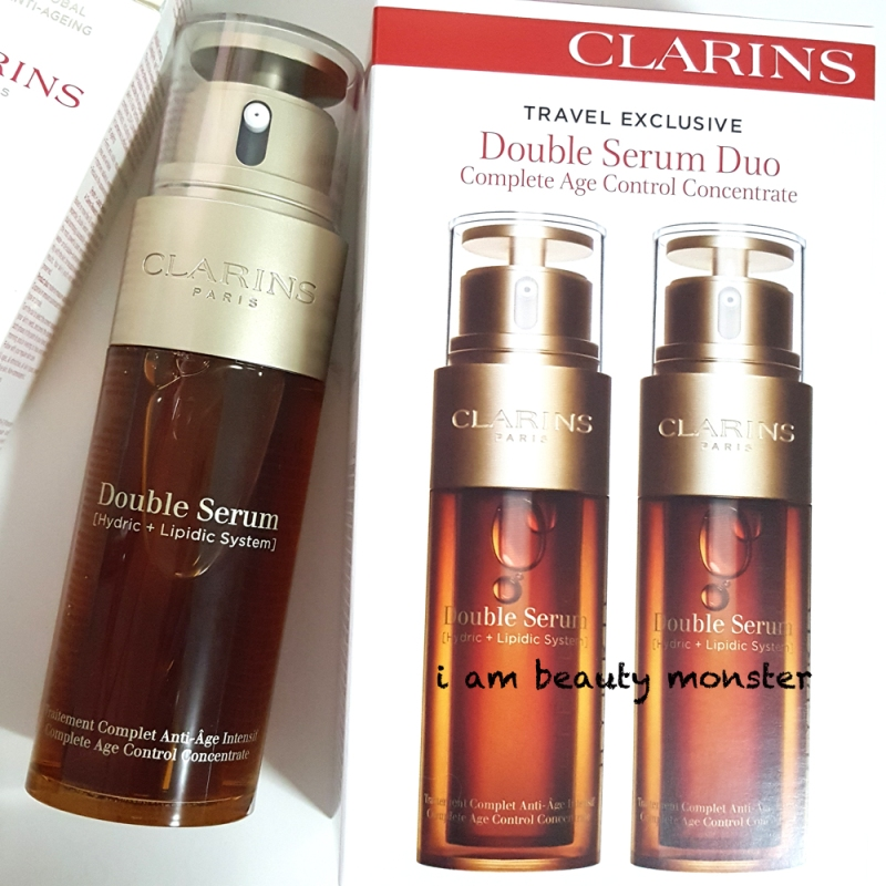 New Clarins Double Serum 2017 Review, รีวิว New Clarins Double Serum