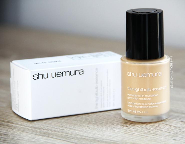 Shu Uemura The Lightbulb Essence Essential-Oil-In Foundation Review
